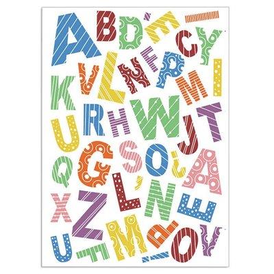 """Szilikonbélyegző szett 4""""x6""""- Baby Alphabet"""