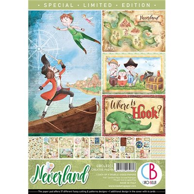 Neverland Limited Edition Creative Pad A4-es