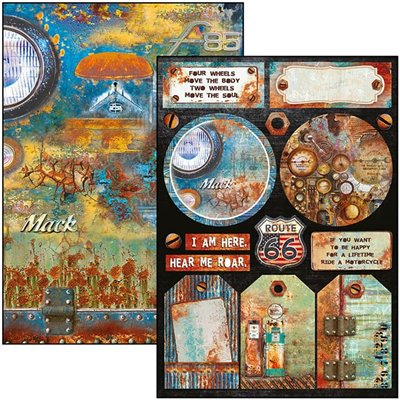 Collateral Rust Limited Edition Creative Pad A4-es