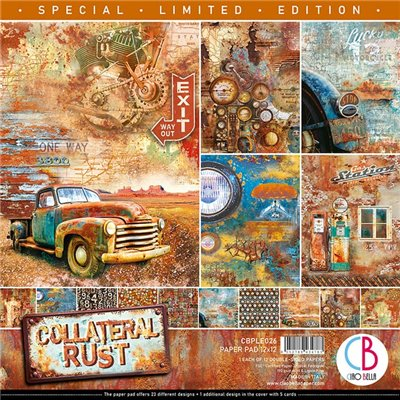 "Collateral Rust 12""x12-es papírkollekció"