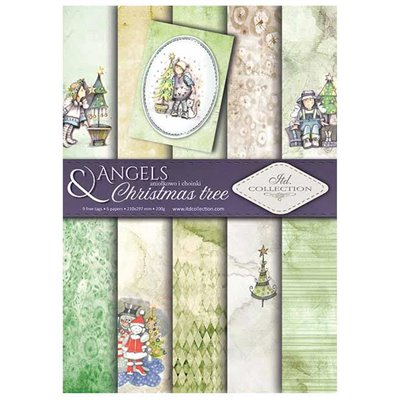 Angels & Christmas trees A4 kollekció