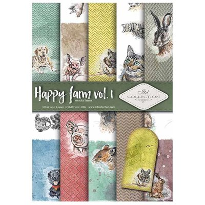 Happy farm des.1 A4 kollekció
