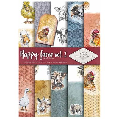 Happy farm des.2 A4 kollekció