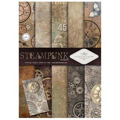 Steampunk A4 kollekció