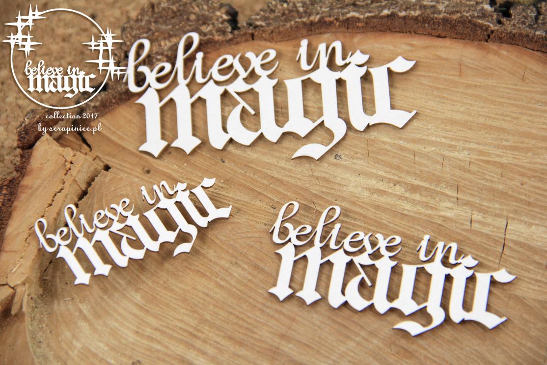 Believe in MAGIC felirat
