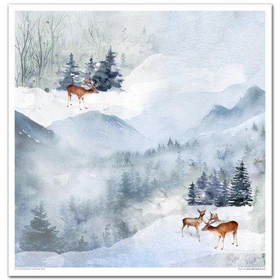 """Wonderful Christmas Time 12x12"""" kollekció"""