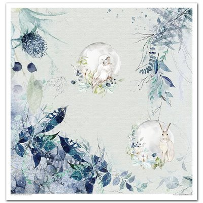 """The world of ice porcelain 12x12"""" kollekció"""