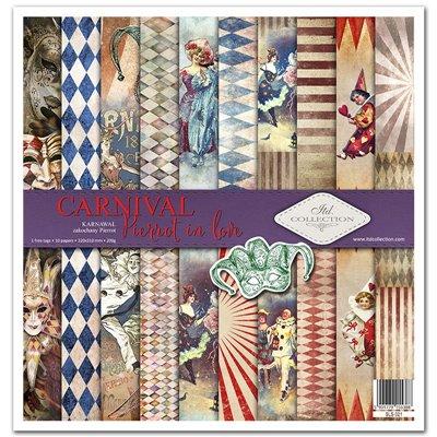 """Carnival - Pierrot in love 12x12"""" kollekció"""