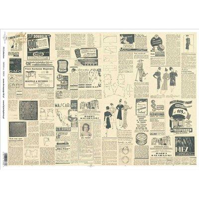 Decoupage papír A3 des.0439