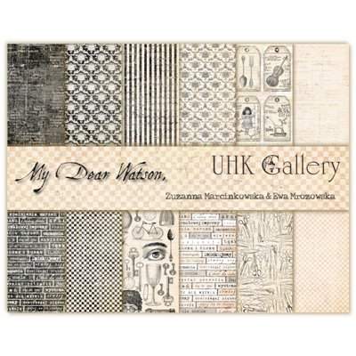 """My Dear Watson 12""""x12"""" kollekció"""