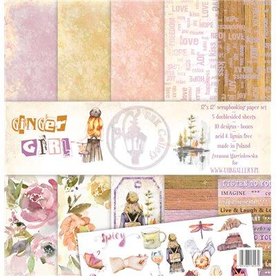"""Ginger Girl 12""""x12"""" kollekció"""