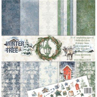 "Winter Tree 12""x12"" kollekció"