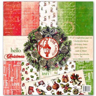 """Hello Christmas 12""""x12"""" kollekció"""