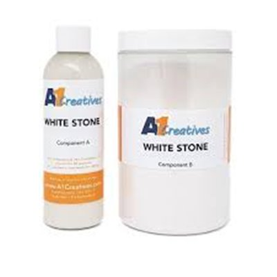 A1 Creatives műgyanta - White Stone