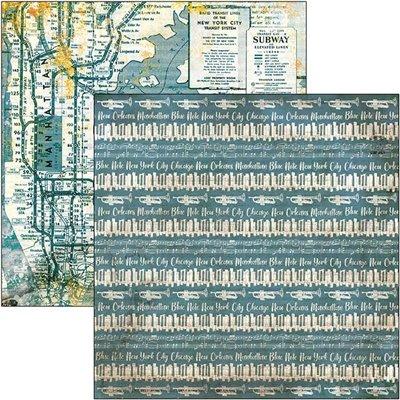"""Blue Note 12""""x12-es papírkollekció"""