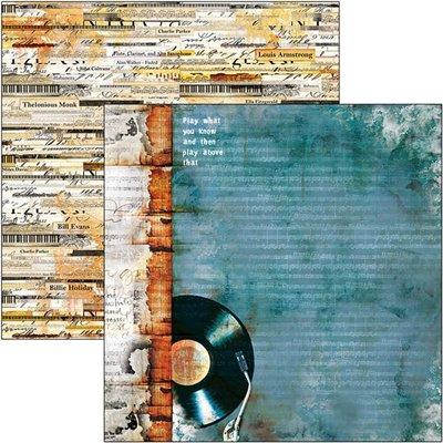 """Blue Note 6""""x6""""-os papírkollekció"""