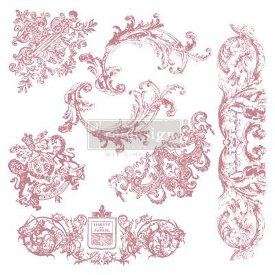 Prima Re-Design Decor Stamps - Chateau De Maisons