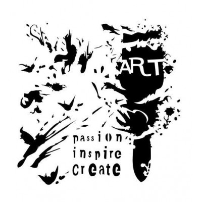 Art Brush stencil