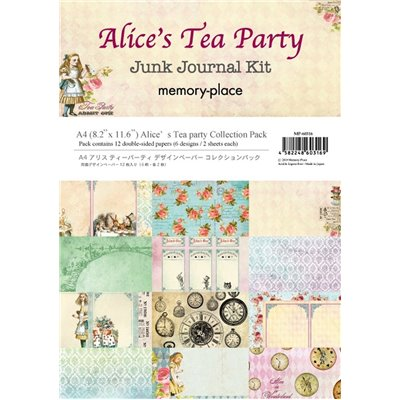 Memory Place - Alice's Tea kollekció (A4)