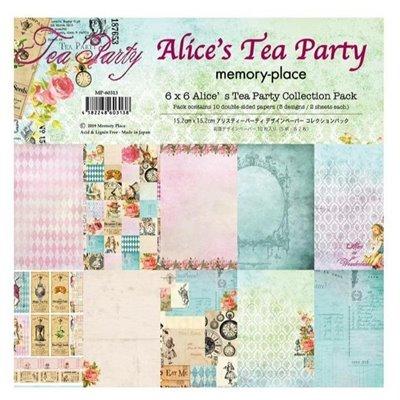 "Memory Place - Alice's Tea Party kollekció (6x6"")"