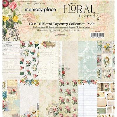 "Memory Place - Floral Tapestry kollekció (12x12"")"
