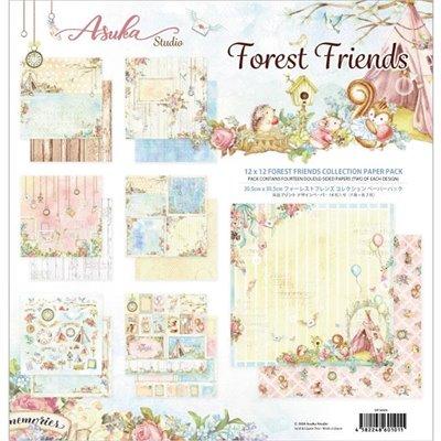 "Memory Place - Forest Friends kollekció (12x12"")"