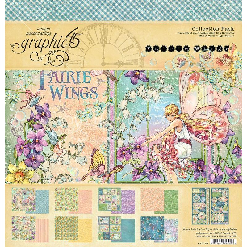 "Graphic 45 - Fairie Wings kollekció (12x12"")"