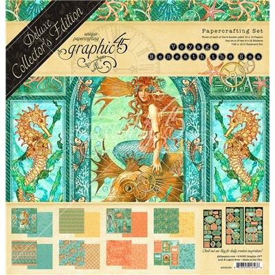 """Graphic 45 - Voyage Beneath the Sea Deluxe kollekció (12x12"""")"""