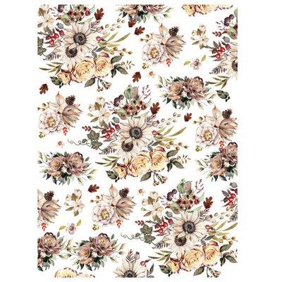 Re-Design with Prima Sunflower Farm 23x30 Inch transzferfólia