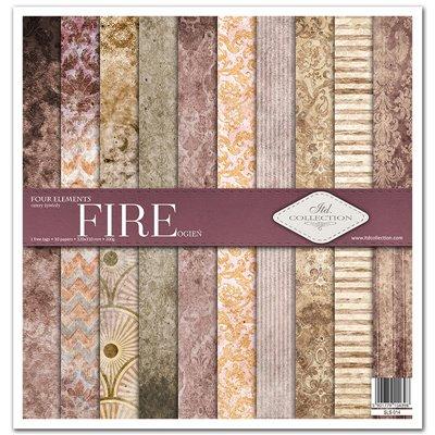"""Four elements - Fire 12x12"""" kollekció"""