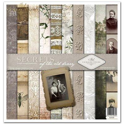 """Secrets of the old diary 12x12"""" kollekció"""