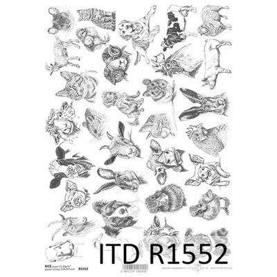 Rizspapír A4 des.1552