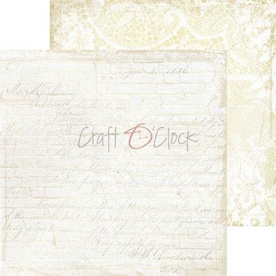 White-Beige Mood - Basic set - papírkészlet 20,3 x 20,3 cm