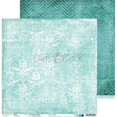 Turquoise Mood - Basic set - papírkészlet 30,5x30,5cm