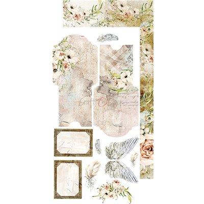 Blooming Retreat - Junk Journal kivágóív szett