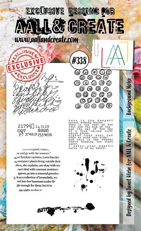 AALL and Create A6-os bélyegző no.338