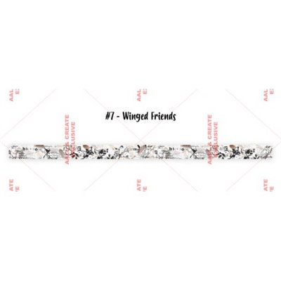 AALL and Create washi tape des.7 - Winged Friends