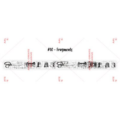 AALL and Create washi tape des.10 - Fragments