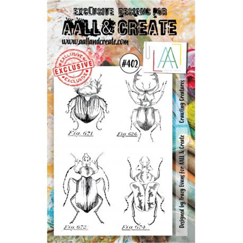 AALL and Create A6-os bélyegző no.402