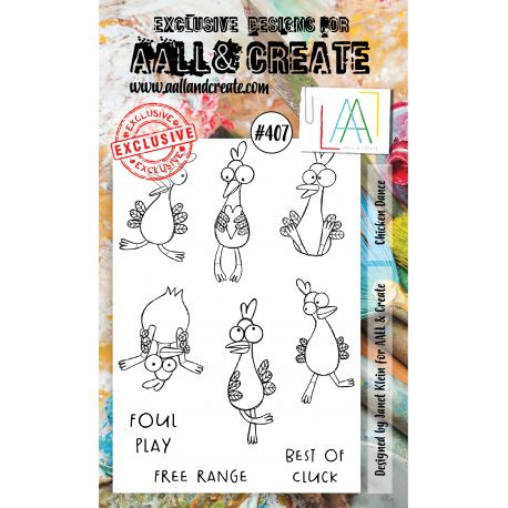 AALL and Create A6-os bélyegző no.407