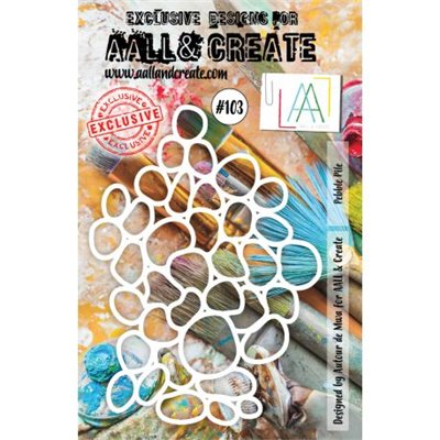 AALL and Create stencil no.103