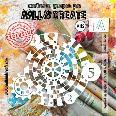 AALL and Create stencil no.115
