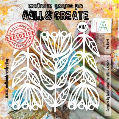 AALL and Create stencil no.116