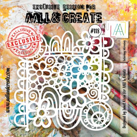 AALL and Create stencil no.118
