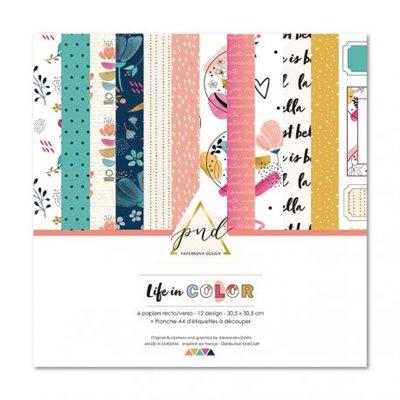 """Life in Color 12"""" kollekció"""