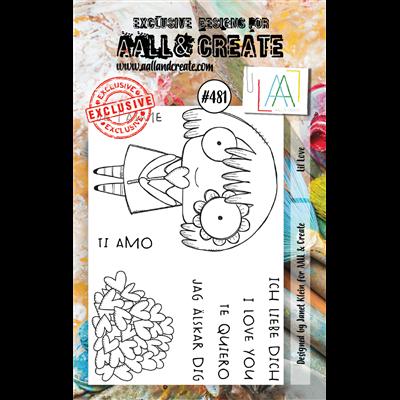 AALL and Create A7-es bélyegző no.481