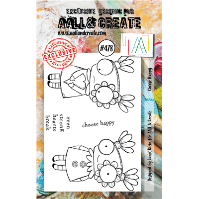 AALL and Create A7-es bélyegző no.478