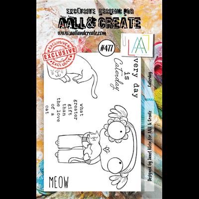 AALL and Create A7-es bélyegző no.477