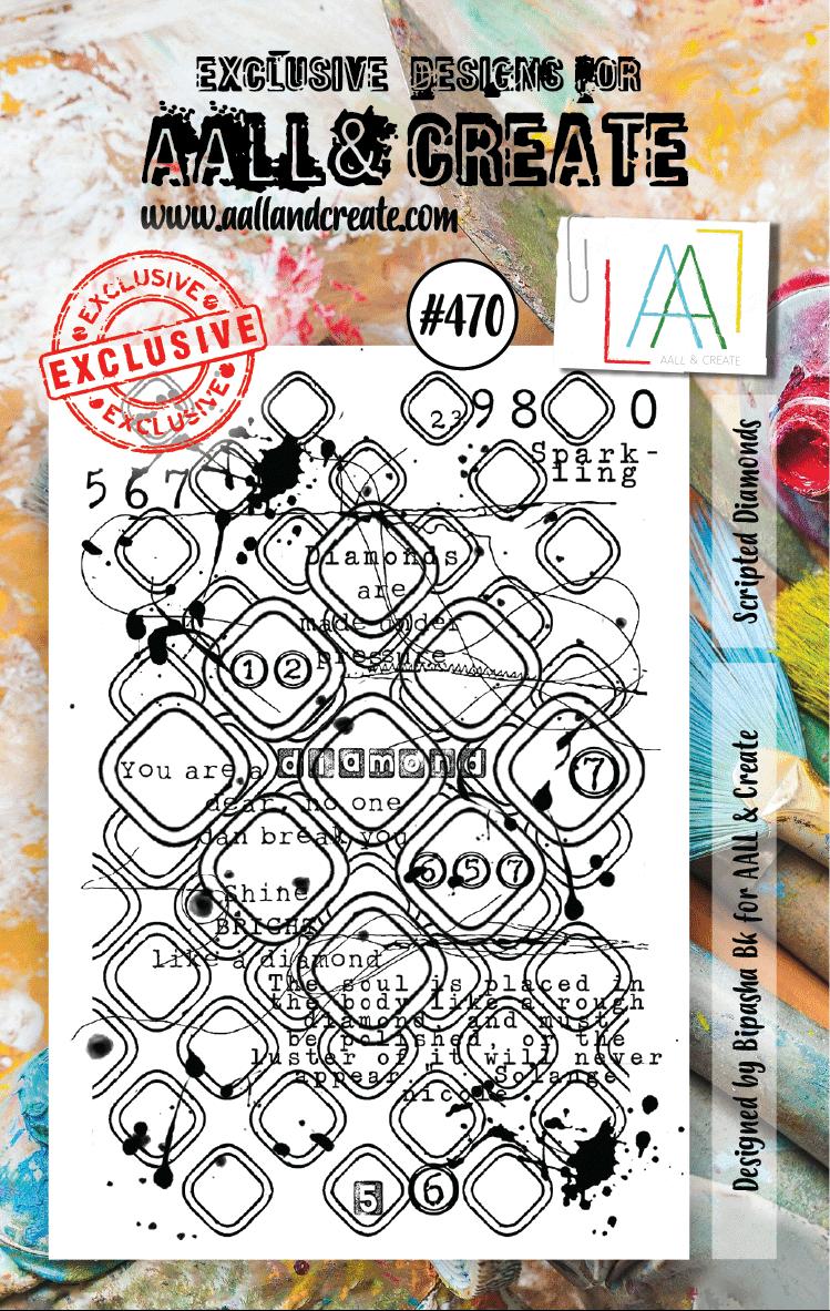AALL and Create A7-es bélyegző no.470