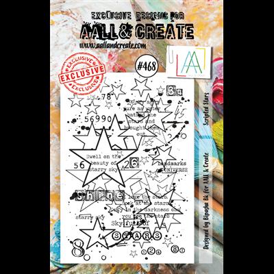 AALL and Create A7-es bélyegző no.468